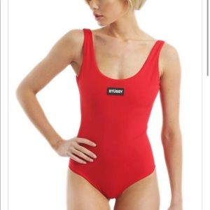 Stussy one piece swimsuit